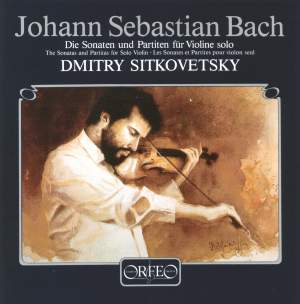 Bach, J S: Sonatas & Partitas for solo violin, BWV1001-1006