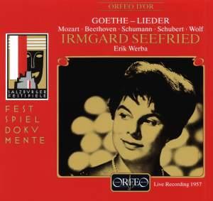 Irmgard Seefried - Salzburg Recital, 1957