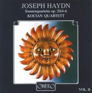 Haydn: String Quartets Op. 20 Nos. 4-6