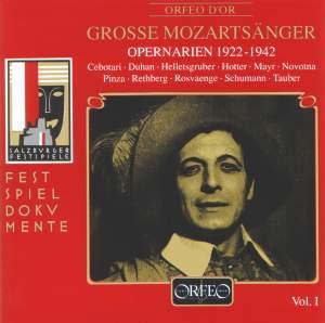 Große Mozartsänger Vol. 1