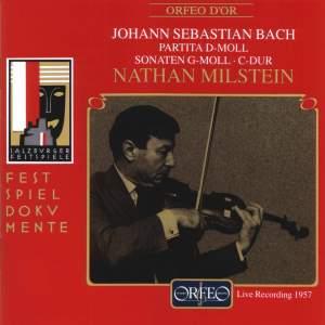 Bach, J S: Partita for solo violin No. 2 in D minor, BWV1004, etc.