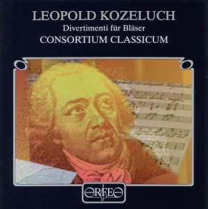 Leopold Koželuch: Divertimenti for Bläser