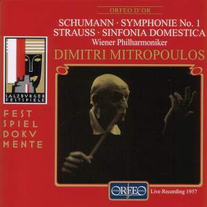 Schumann: Symphony No. 1 & Strauss: Symphonia Domestica