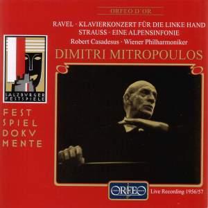 Ravel: Piano Concerto for the left hand & Strauss: Eine Alpensinfonie