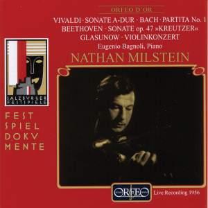 Vivaldi: Sonata for Violin and basso continuo No. 30, etc.