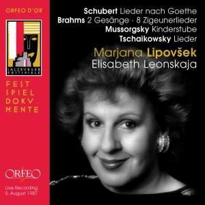 Liederabend - Marjana Lipovsek