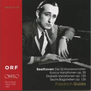 Friedrich Gulda plays Beethoven (1953-7)