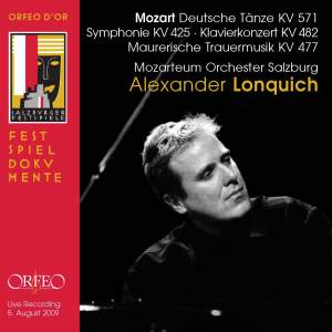 Mozart: Deutsche Dances, Symphony No. 36 & Piano Concerto No. 22