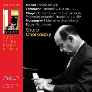 Shura Cherkassky Recital, Salzburg 1961
