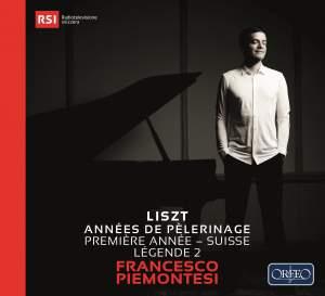 Liszt: Années de pélerinage&#x3B; Première année - Suisse & Légende 2