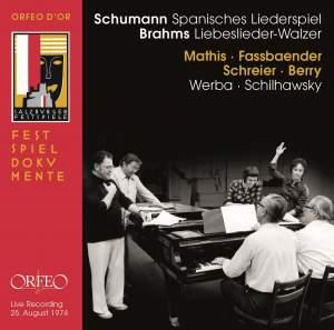 Schumann: Spanische Liederspiel & Brahms: Liebeslieder-Walzer