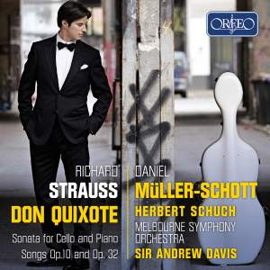 Strauss: Don Quixote, Sonata for cello and piano, Songs Opp. 10 & 32