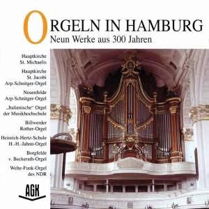 Orgeln in Hamburg - Neun Werke aus 300 Jahren