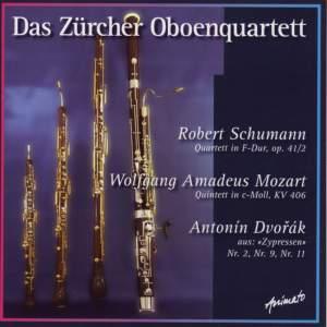 Das Zurcher Oboenquartett: Schumann, Mozart, Dvorak