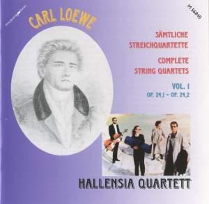 Carl Loewe: String Quartets Volume One