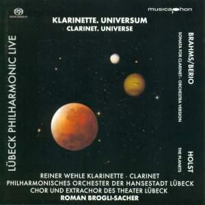 Clarinet, Universe