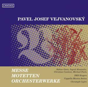 Vejvanovksy: Masses, Motets & Orchestral Works Product Image
