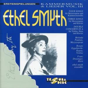 Smyth: Chamber Music & Songs, Vol. 3
