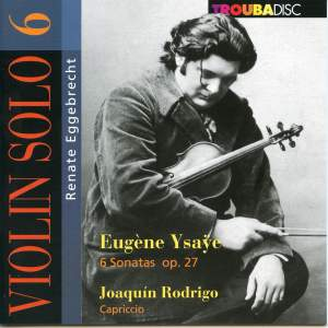 Renate Eggebrecht: Violin Solo Vol. 6