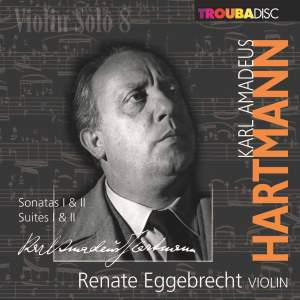 KA Hartmann: Works for Solo Violin Product Image