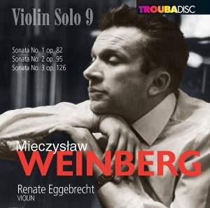 Weinberg: Violin Solo, Vol. 9