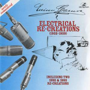 Enrico Caruso: Electrical Re-Creations