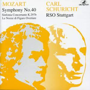 Carl Schuricht conducts Mozart (1952-1962) Product Image
