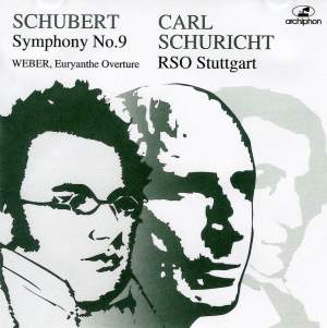 Schuricht conducts Schubert & Weber Product Image