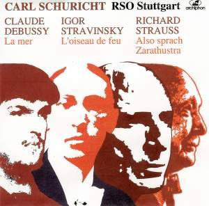 Schuricht conducts Debussy, Stravinsky and Strauss