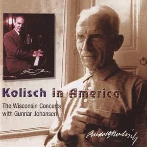 Kolisch in America, Vol. 1 Product Image