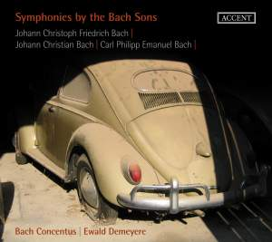 Symphonies by the Bach Sons Product Image