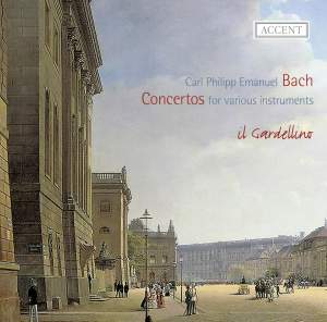 CPE Bach: Concertos for various instruments Product Image