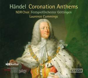 Handel: Coronation Anthems Nos. 1-4 Product Image