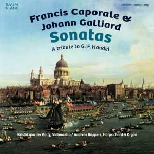 Francis Caporale & Johann Galliard: Sonatas Product Image