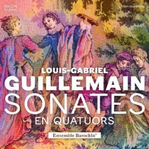 Louis-Gabriel Guillemain: Sonates en quatuors Product Image