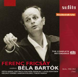 Ferenc Fricsay conducts Béla Bartok