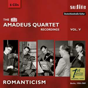 The RIAS Amadeus Quartet Recordings Vol. 5: Romanticism