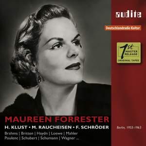 Portrait Maureen Forrester: 1955-1963
