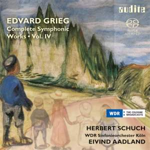 Grieg: Complete Symphonic Works Volume 4