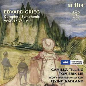 Grieg: Complete Symphonic Works, Vol. 5 Product Image