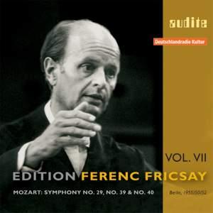 Mozart: Symphonies Nos. 29, 39 & 40