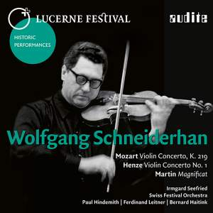 Lucerne Festival Historic Performances Vol. X