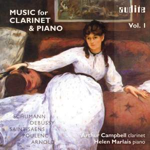 Music for Clarinet & Piano Volume 1