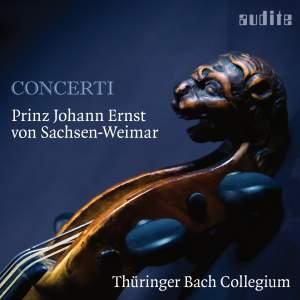 Prinz Johann Ernst von Sachsen-Weimar: Concerti Product Image