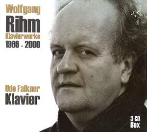 Wolfgang Rihm: Complete Solo Piano Works