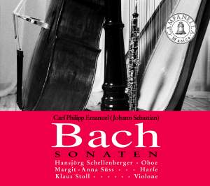 CPE and JS Bach: Oboe Sonatas Product Image