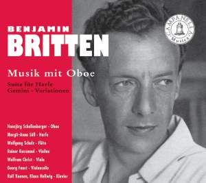 Britten: Music with Oboe Product Image