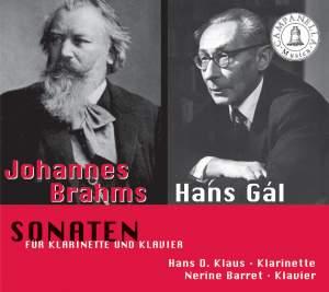 Brahms & Gal: Clarinet Sonatas Product Image