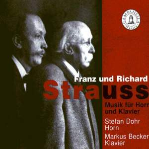 Franz & Richard Strauss: Music for Horn and Piano Product Image