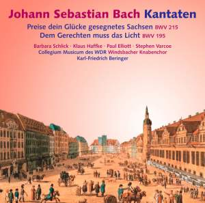 JS Bach: Cantatas BWV 215, 195